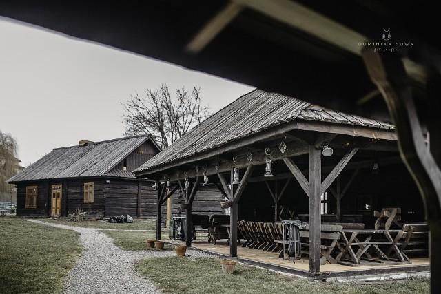 Osada Podegrodzie przy Zamku Królewskim w Niepołomicach. Właśnie tu odbędzie się Festyn Słowiański, organizowany przez Stowarzyszenie Jaruna