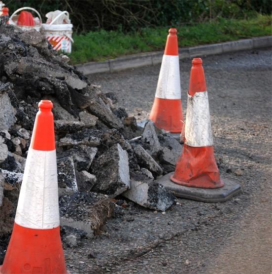 W Koszalinie trwają remonty dróg.