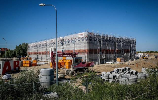 Kowale koło Gdańska. Budowa pierwszej Metropolitalnej Szkoły Podstawowej w Kowalach [21.05.2018]