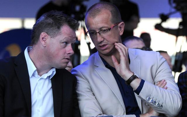 Marek Jóźwiak (na zdjęciu z prawej)