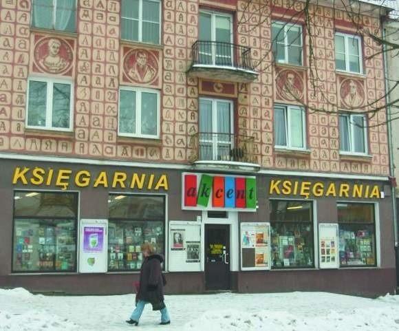 W lutym lokal, który zajmuje księgarnia Akcent, ma trafić na przetarg.