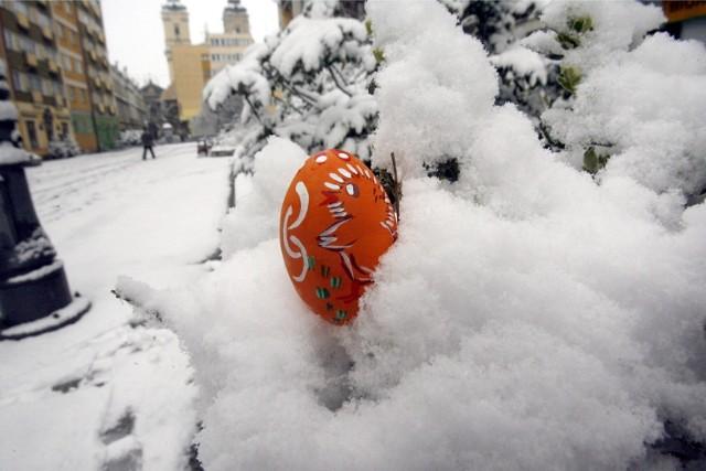 Ostatnie śnieżne święta wielkanocne mieliśmy w 2008 i 2013 roku