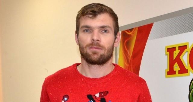 Bartosz Rymaniak Boże Narodzenie spędzi z żoną i synem