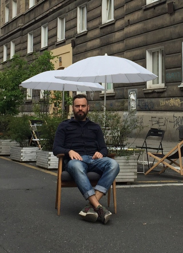 Michał Marcinkowski, właściciel kilku lokali - Taczaka 20, Kisielic, Min's Onigiri. SMS o treści CZR.14