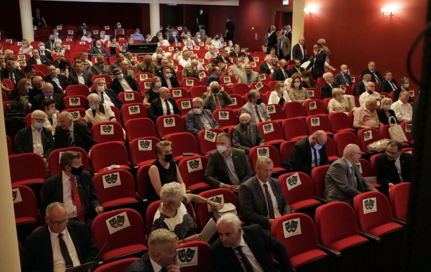 Uroczysta sesja Rady Miasta Grudziądza w obchody 730....