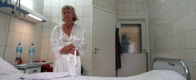 Pani Helena, chora tarnobrzeżanka, zgodziła się pokazać publicznie.