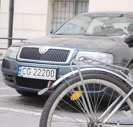 Aby prezydent nie musiał jeździć rowerem, planowana jest wymiana zawodnej skody