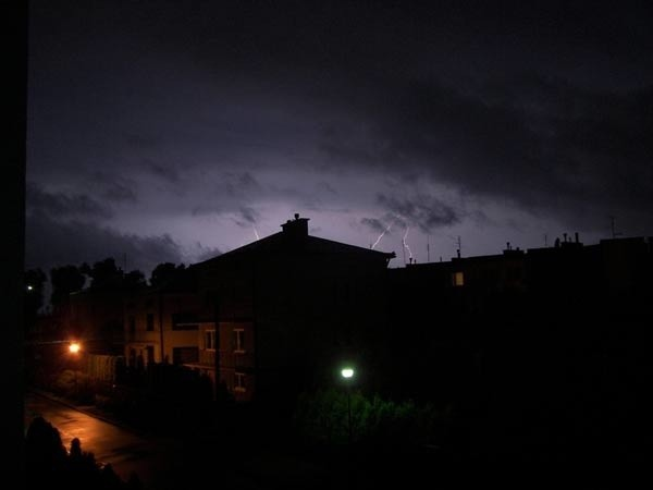 Burza nad Lancutem
