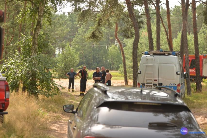 Wielkie poszukiwania we Włocławku - zaginął policjant.