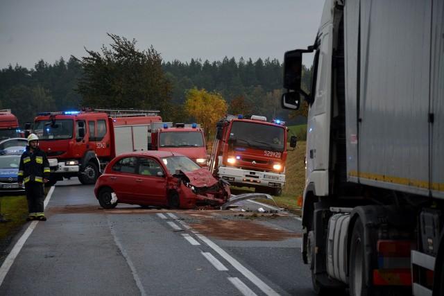 W wypadku na DK 25 w Obkasie w powiecie sępoleńskim zginął 49-letni mieszkaniec gminy Kamień Krajeński