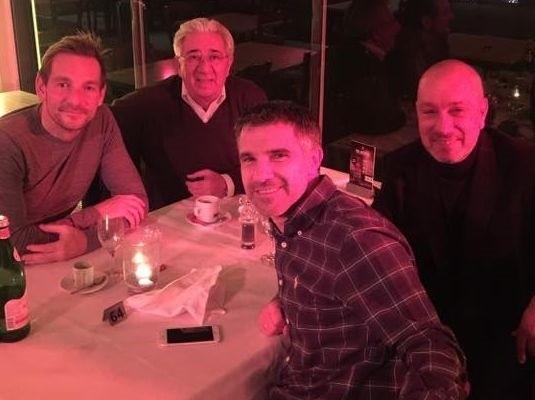 Trener Gino Lettieri urlop spędza w Niemczech.