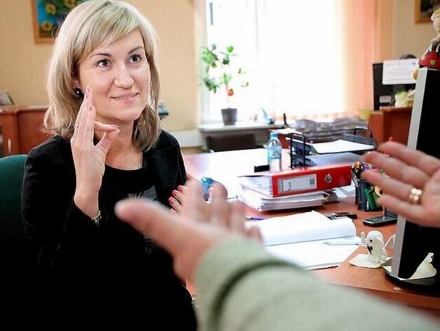 W Urzędzie Miejskim osobami niesłyszącymi zajmować się będzie Małgorzata Brzezińska