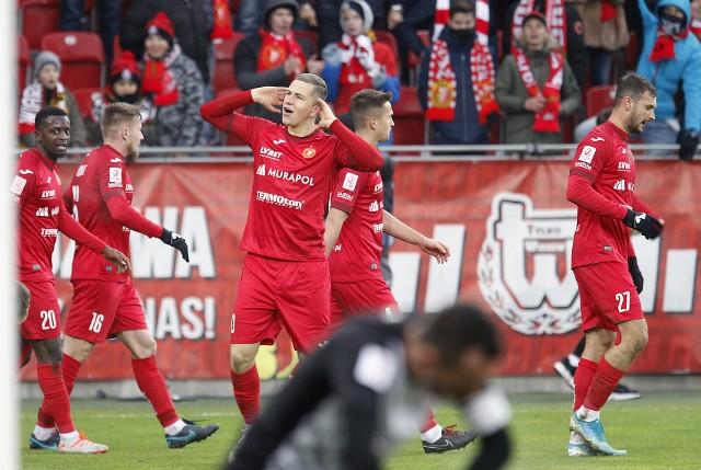 Rafał Wolsztyński zdobył trzy gole w Polkowicach