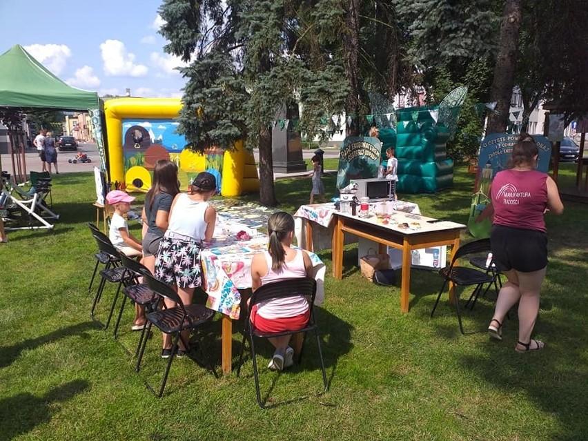 """Na pikniku """"Eko Anka"""" w Golubiu-Dobrzyniu czekało sporo..."""