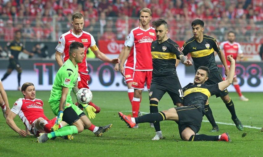 Rafał Gikiewicz i jego interwencja w meczu ze Stuttgartem