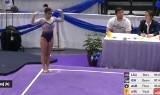 Koszmar podczas zawodów! Gimnastyczka złamała obie nogi! [UWAGA! DRASTYCZNE WIDEO]