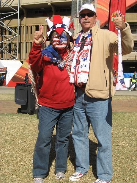 Dan i Bonnie Shapardowie zapewniają, że mundialem interesuje się aż 50 procent Amerykanów
