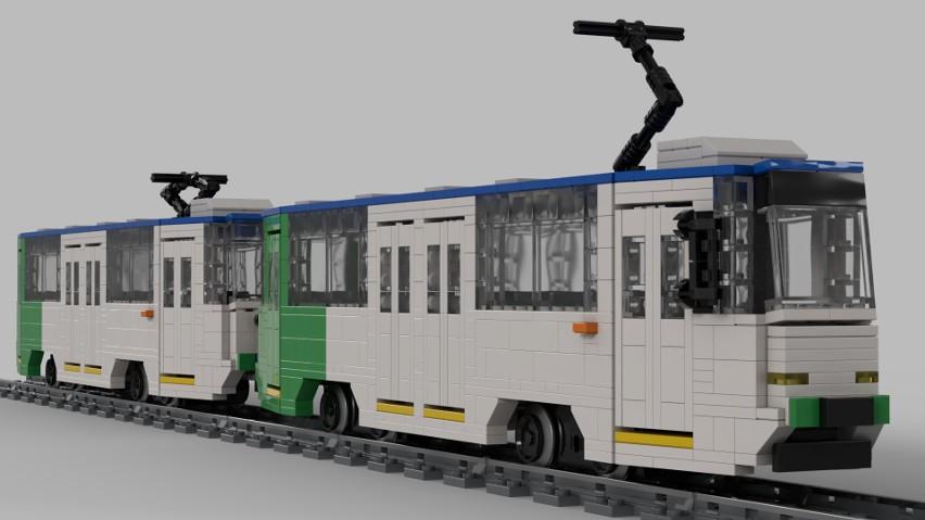 To biało-zielono-niebieski skład nr 1021+1022. Tramwaje zwane potocznie akwariami produkowane były w latach 1979–1992, w Chorzowie (Polska). 105Na to jednoczłonowy, jednokierunkowy wagon silnikowy, wyposażony w czworo drzwi. Powstała również wersja wąskotorowa - rozstaw szyn 1000 mm. Tramwaje Konstal 105Na+105NaD i Konstal 805Na + 805NaD spotkać możecie w wielu polskich miastach np. w Bydgoszczy, Częstochowie, Elblągu, Gdańsku, Gorzowie Wielkopolskim, na Śląsku, Grudziądzu, Krakowie, Łodzi, Poznaniu, Szczecinie, Toruniu, Warszawie i Wrocławiu.