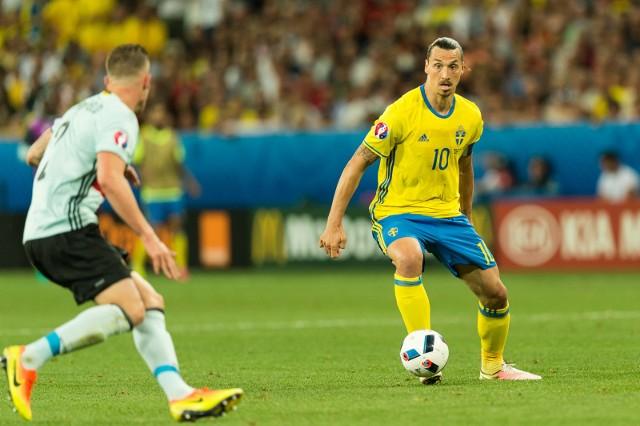 Zlatan Ibrahimović to niekwestionowana gwiazda piłkarskiej reprezentacji Szwecji