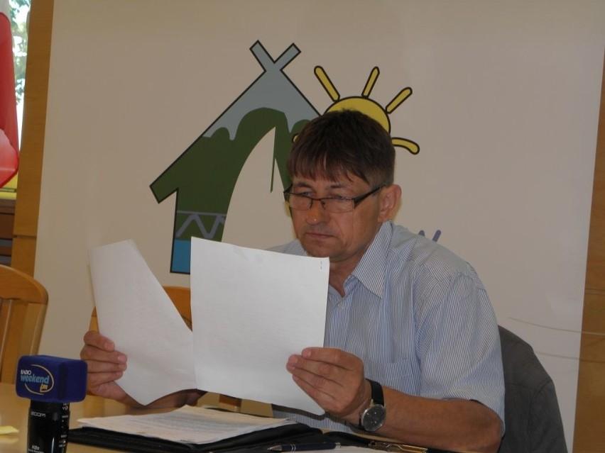 Wójt Zbigniew Szczepański po raz kolejny interweniuje w sprawie znaków