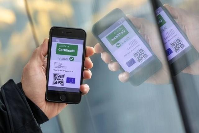 Paszport covidowy można pobrać poprzez Internetowe Konto Pacjenta, aplikację mObywatel, od lekarza POZ, czy też, w przypadku osób zaszczepionych, w punkcie szczepień