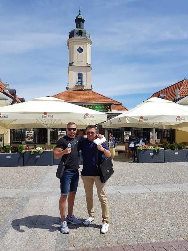 Michał Syrowatka dołączył do białostockiej grupy Boxing Chorten Production