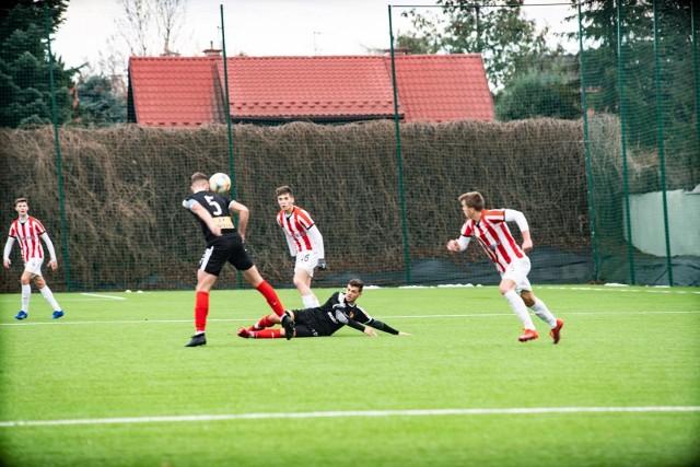 Piłkarze Cracovii pokonali 2:0 Koronę Kielce w meczu 17. kolejki Centralnej Ligi Juniorów U-18.