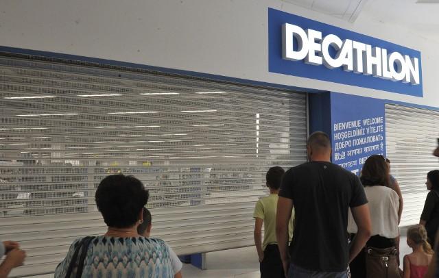 Na otwarcie sklepu Decathlon w Zielonej Górze z niecierpliwością czeka wielu mieszkańców miasta i okolic.
