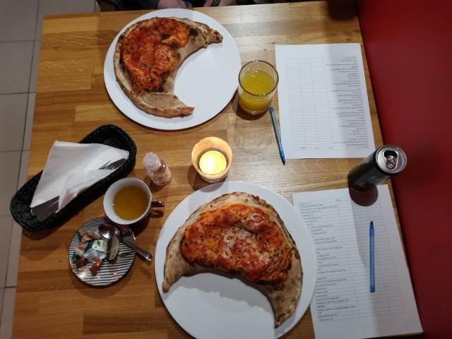 Testowanie potraw w jednej z toruńskich restauracji