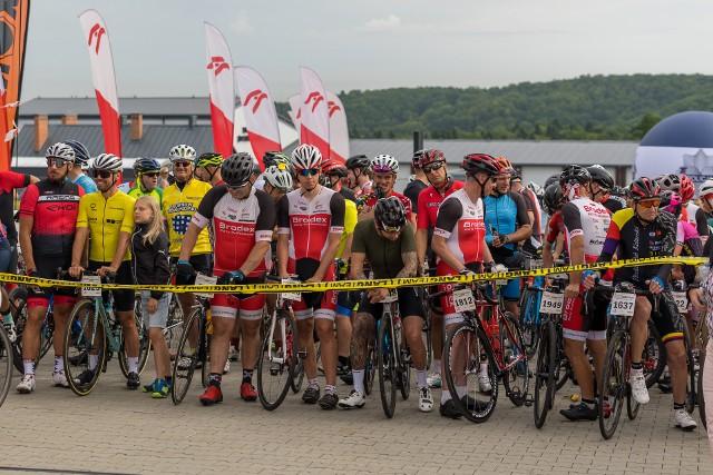 W ramach Tour de Pologne Amatorów zawodnicy rywalizowali na trasie w okolicy Hotelu Arłamów