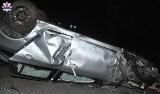 Łuków: Pijany kierowca wjechał w ogrodzenie w miejscowości Burzec. Zniszczył ponad 30 metrów płotu