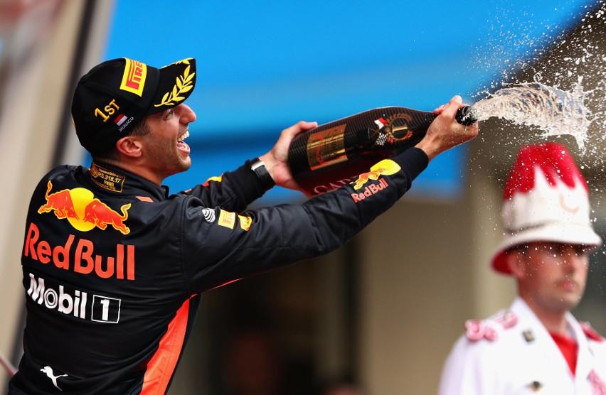 FORMUŁA 1. GRAND PRIX MONAKO. Daniel Ricciardo wygrał Grand Prix Monako