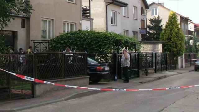 To w tym miejscu został postrzelony przez swojego brata Leszek Ż.