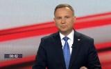 Wybory 2020: Debata prezydencka TVP w Końskich. Na pytania odpowiadał prezydent Andrzej Duda