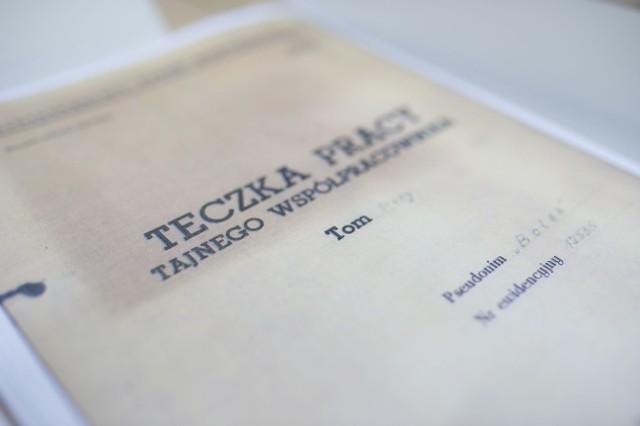 Teczka TW Bolka - dokumenty ujawnione przez IPN cz.1