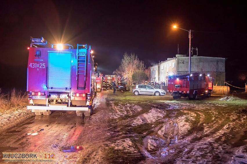 Do wybuchu doszło w mieszkaniu w popegerowskim bloku. W...