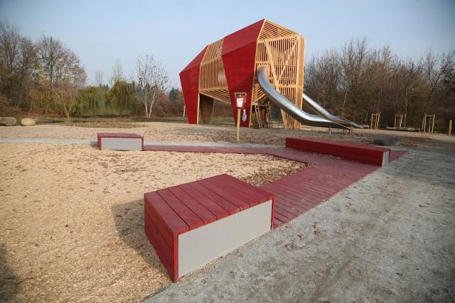 Park Mamuta na Oporowie to najnowsza inwestycja zrealizowana w ramach Wrocławskiego Budżetu Obywatelskiego