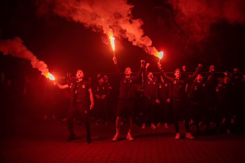 Co to był za wieczór i co to była za noc przy Bułgarskiej....