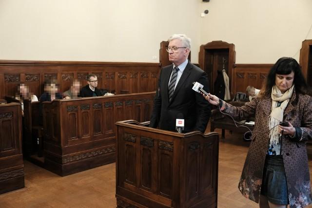 Afera parkingowa w policji: Zeznawali Grobelny i Jaśkowiak