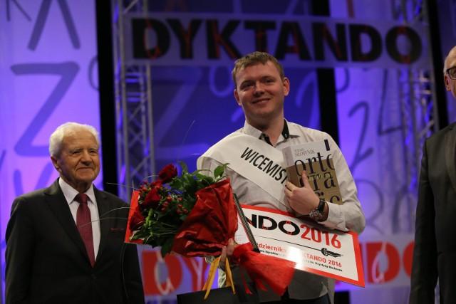 W 2016 r. Wicemistrzem Ortografii Polskiej został Arkadiusz Kleniewski, a Mistrzem - Michał Gniazdowski.