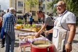 Poznań: Ślepe ryby na Skwerze Trzech Tramwajarek. Częstowano zupą [ZDJĘCIA, WIDEO]