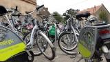 110 rowerów na jednej stacji... Gdzie indziej - wieczne braki