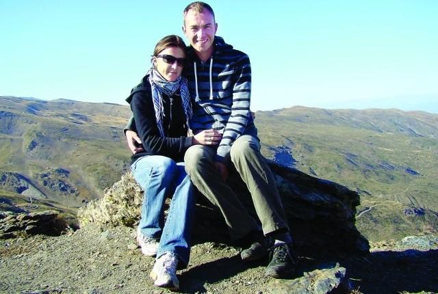 Sylwia Kapusta ze swoim mężem Darkiem.
