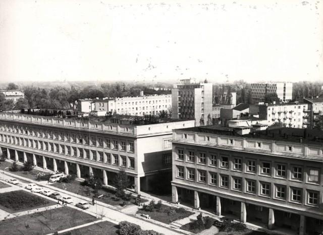 """1979, Budynek """"Collegium Chemicum"""""""