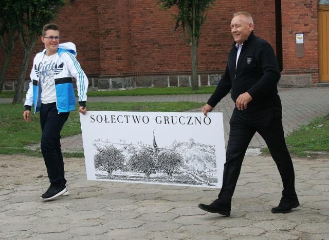 Nowy sołtys Jan Chudziński tchnął nowego ducha w mieszkańców Gruczna.