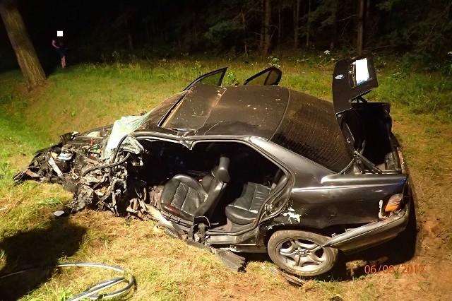 O ogromnym szczęściu mogą mówić uczestnicy wypadku, do którego doszło 5 sierpnia, o godzinie 22:49, na trasie Koszarówka – Ruda w gminie Grajewo, na fragmencie drogi krajowej nr 65.