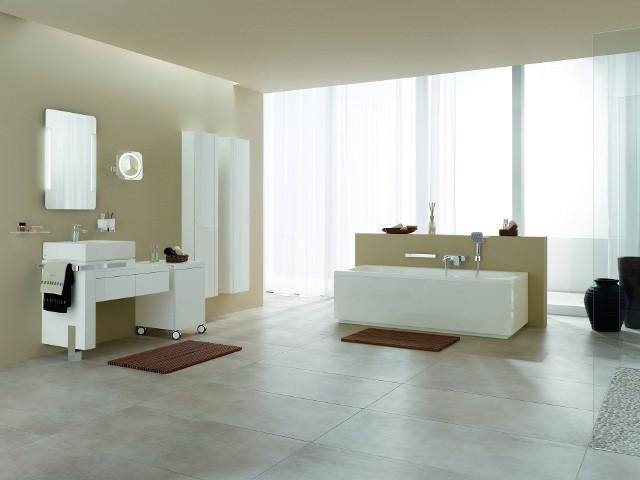 Aranżacja dużej łazienkiDuże łazienki coraz częściej przypominają salon.