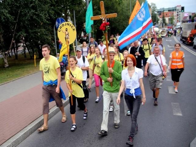 Pielgrzymi z Chojnic ruszyli na Jasną Górę