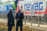 Nowy Sącz. Newag odwiedził minister Adamczyk. Oddano do użytku pierwszy w kraju tor testowy [ZDJĘCIA]