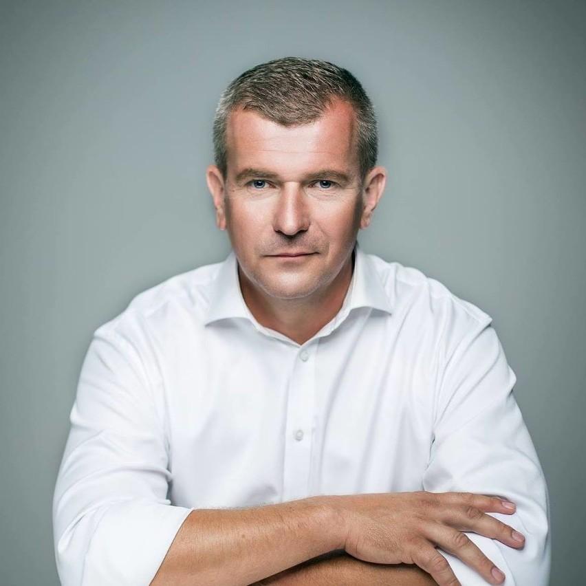Burmistrz Łap Krzysztof Gołaszewski